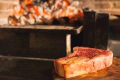 Entrecote da carne Fotografia de Stock