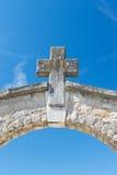 Entree cemetery Royalty Free Stock Photos