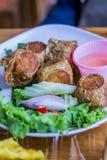 Entree. Of Thai food at street market Royalty Free Stock Photo
