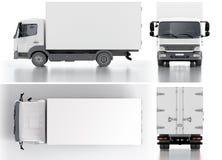 Entrega/camión del cargo Imagen de archivo
