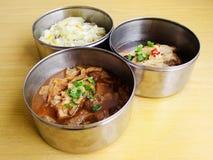 Entrega chinesa do alimento foto de stock