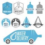 Entrega da água ilustração royalty free