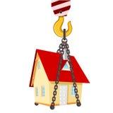 Entrega de la nueva casa libre illustration