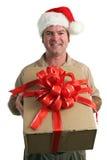 Entrega do Natal foto de stock