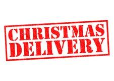 Entrega do Natal ilustração stock