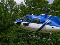 Entrega en helicóptero Imágenes de archivo libres de regalías