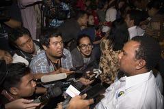 Entrega indonesia del rehén Foto de archivo libre de regalías