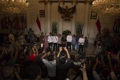 Entrega indonesia del rehén Fotografía de archivo libre de regalías