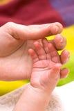 Entrega o bebê e a mamã Imagem de Stock