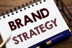 Entregue a inspiração do subtítulo do texto da escrita que mostra a estratégia do tipo Conceito do negócio para o plano de mercad Foto de Stock Royalty Free