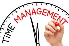 Conceito da gestão de tempo Fotos de Stock Royalty Free