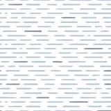 Entregue o teste padrão sem emenda listrado tirado com pinceladas horizontais curtos Textura para a cópia, papel de parede, decor Fotos de Stock Royalty Free