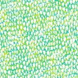 Entregue o teste padrão tirado inspirado pela pele tropical dos peixes Fotografia de Stock