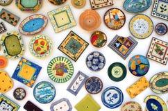Entregue placas pintadas Foto de Stock