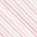 Entregue a vetor tirado listras diagonais do grunge das cores cor-de-rosa brilhantes sem emenda ilustração stock