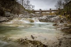Entrementes na Croácia Istia Motovun imagens de stock royalty free