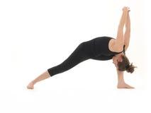 Entrenamiento avanzado de la yoga fotos de archivo