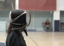 Entrenamiento de Kendo Foto de archivo libre de regalías
