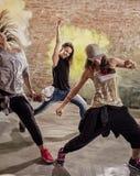 Entrenamiento de la aptitud de la danza foto de archivo