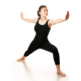 Entrenamiento de la yoga Fotos de archivo