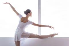 Entrenamiento de su flexibilidad Fotografía de archivo libre de regalías