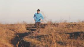 Entrenamiento del atleta del corredor metrajes