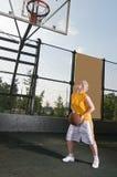 Entrenamiento del baloncesto Imágenes de archivo libres de regalías