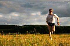 Entrenamiento del deporte Imagen de archivo libre de regalías