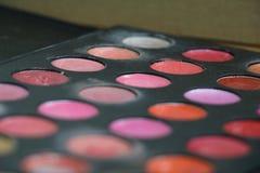 Entrenamiento del maquillaje Fotografía de archivo libre de regalías