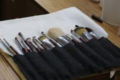 Entrenamiento del maquillaje Foto de archivo libre de regalías