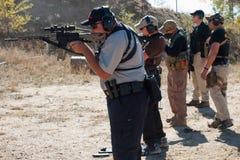 Entrenamiento del rifle Fotografía de archivo