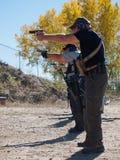 Entrenamiento del rifle Fotos de archivo libres de regalías