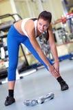 Entrenamiento en gimnasia Fotografía de archivo libre de regalías