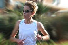 Entrenamiento femenino del atleta Fotografía de archivo libre de regalías
