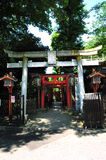 Entrence de temple Photos libres de droits