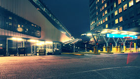 Entrence Into Parking Garage Royalty Free Stock Photos