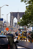 Entrence van de Brug van Brooklyn Royalty-vrije Stock Foto