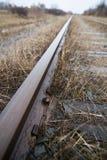 Pista del tren Imagenes de archivo