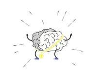 Entrene a su cerebro Imagen de archivo libre de regalías
