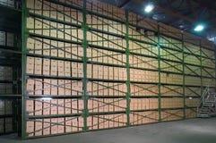 Entrepôt. photographie stock