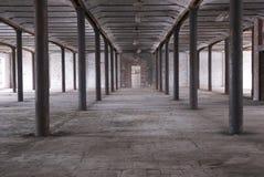 Entrepôt abandonné Photo libre de droits