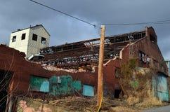 Entrepôt abandonné par Missouri 005 de l'indépendance Photo libre de droits