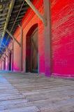 Entrepôt (colorized) Photo libre de droits