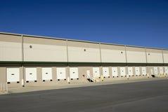 Entrepôt commercial image stock