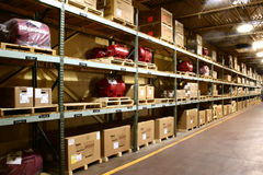 Entrepôt d'usine Photos stock