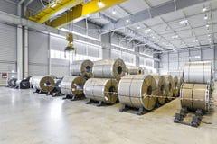 Entrepôt d'usine de véhicule Image libre de droits