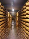 Entrepôt de fromage Photographie stock libre de droits