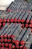 Entrepôt des pipes neuves Photo libre de droits