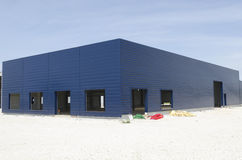 Entrepôt en construction Photo stock