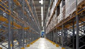 Entrepôt industriel photo stock